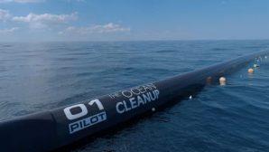 Американские ученые запускают плавучий коллектор для очистки океана от пластика