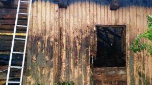 В Гродненской области сгорел пустующий деревенский дом
