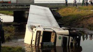 Кобринский район: спасатели деблокировали водителя грузовика