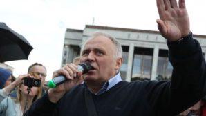 В Минске на 15 суток арестован оппозиционный лидер Николай Статкевич