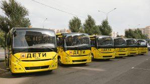 Белорусские школы начинают получать новые школьные автобусы