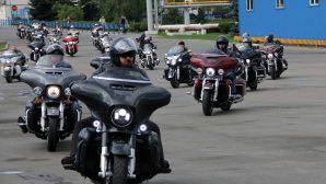 """На """"БЕЛАЗ"""" ворвались байкеры: Закрытие «H.O.G. Rally Minsk-2017»"""
