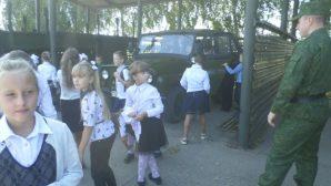 Уроки мужества для школьников в воинских частях ВС Беларуси