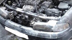 В Минске на ходу загорелась иномарка, один человек пострадал