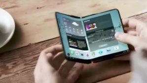 Samsung с гибким OLED-дисплеем должен появиться уже в 2018 году