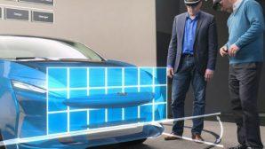 """""""Ford"""" проектирует дизайны моделей в """"дополненной реальности"""""""
