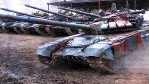 Белорусские танкисты применяют редкий прием стрельбы на дальность