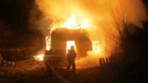 В Новогрудском районе сгорел пенсионер