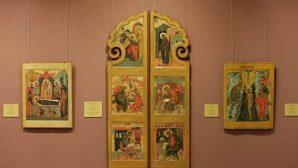 В Беларусь прибыли сакральные произведения из Музея русской иконы