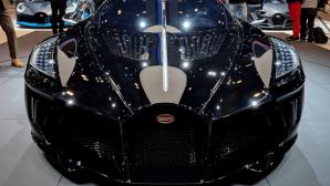 На автосалоне в Женеве Bugatti представила самое дорогое авто в мире
