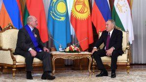 Нурсултан Назарбаев высоко оценил вклад Александра Лукашенко в создание ЕАЭС