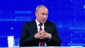 Владимир Путин ответил на вопрос о возможности объединения России и Беларуси