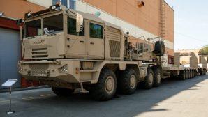 На МЗКТ создали 42-метровый автопоезд-тяжеловоз