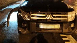 На автотрассе в Городокском районе погиб пешеход