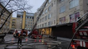 Пожар в Центральном районе: специалистам МЧС удалось спасти человека