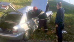 Авария с участием трех автомобилей на МКАД парализовала городской трафик