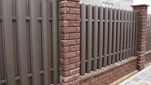 Почему следует выбрать забор из металлоштакетник