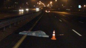 Смертельная авария на трассе Минск-Гродно: пешеход оказался под колесами двух автомобилей