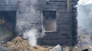 В результате пожара, произошедшего в Сморгонском районе, погиб мужчина