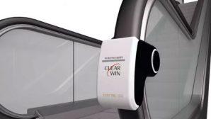 В Южной Корее показали супер очиститель для перил эскалаторов