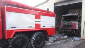 Витебск: система мониторинга позволила ликвидировать пожар  в гараже на начальной стадии