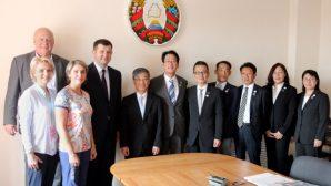 В Министерстве спорта и туризма провели встречу с делегацией из Японии