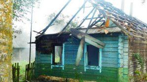 В Кореличском районе 31-летний мужчина сгорел в собственном доме