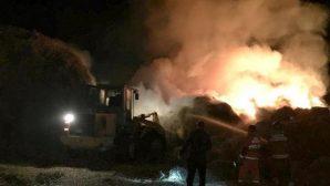 Ошмянский район: пожарные ликвидировали загорание соломы