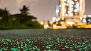В Сингапуре появятся светящиеся тротуары