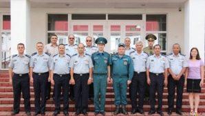 Представители Иордании прошли обучение в УГЗ МЧС Беларуси