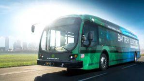 В США электрический пассажирский автобус установил рекорд дальности без подзарядки