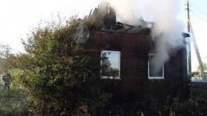 В Мозырском районе на пожаре погиб мужчина
