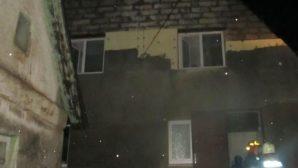 В Могилеве горел жилой дом на Пролетарской