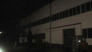 В Гродно горел завод «Белцветмет»