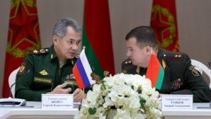 Совместная коллегия министерств обороны РБ и РФ прошла в Москве