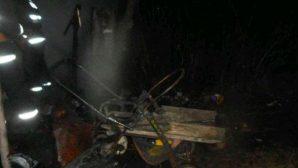На Могилевщине бездомный мужчина едва не сгорел в сарае