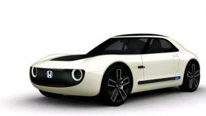 Honda показала концепт электрокара в стиле спорт-купе из 80-х