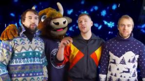 Хоккеисты минского «Динамо» перепели новогодний хит «Стекловаты»