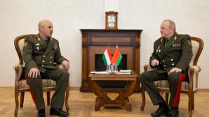 В Беларусь прибыла военная делегация из Таджикистана