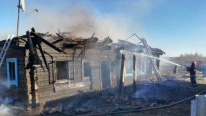 На пожаре дома в Ганцевичском районе погиб мужчина