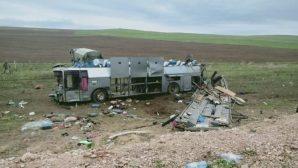 В Казахстане перевернулся пассажирский автобус - 11 погибших и около трех десятков раненых