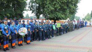 В Мостах прошли соревнования санитарных дружин и добровольных пожарных команд