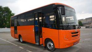 «ЗАЗ» представил новый пассажирский автобус